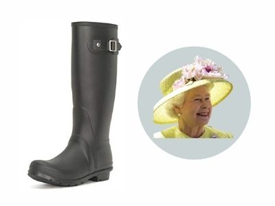 What wellies do the royals wear